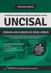 Apostila Digital UNCISAL-AL - Comum a Cargos de Nível Médio