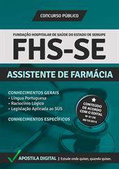 Apostila Digital FHS-SE - Assistente de Farmácia