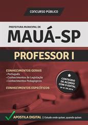 Apostila Digital Prefeitura de Mauá-SP - Professor l