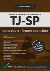 Apostila Digital TJ-SP 2014   Escrevente Técnico Judiciário