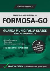 Apostila Digital Prefeitura de Formosa-GO - Guarda Municipal de 3ªClasse