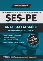 Apostila Digital SES-PE - Analista de Saúde - Enfermeiro Assistencial
