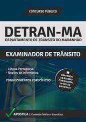 Apostila Digital DETRAN-MA – Examinador de Trânsito