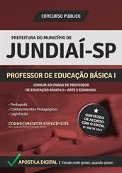 Apostila Digital Prefeitura de Jundiaí-SP - Professor Educação Básica l e ll - Arte e Espanhol