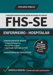 Apostila Digital FHS-SE - Enfermeiro Hospitalar