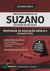 Apostila Digital Prefeitura de Suzano-SP - PEB ll - Educação Física