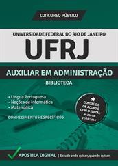 Apostila Digital UF-RJ - Auxiliar em Administração-Biblioteca