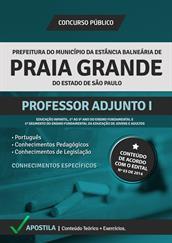 Apostila Digital Prefeitura Praia Grande-SP - Professor Adjunto l