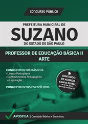 Apostila Digital Prefeitura de Suzano-SP - PEB ll - Arte