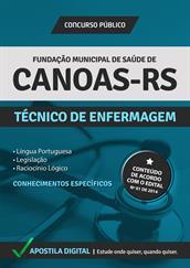 Apostila Digital Fundação de Saúde de Canoas-RS - Técnico de Enfermagem