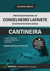 Apostila Concurso Cantineira – Prefeitura Conselheiro Lafaiete-MG 2015
