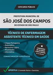 Apostila Concurso Técnico em Enfermagem – Prefeitura de São José dos Campos-SP 2015