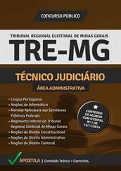 Apostila Digital TRE-MG - Técnico Judiciário - Área Administrativa