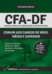 Apostila Digital CFA-DF – Comum aos Cargos de Nível Médio e Superior