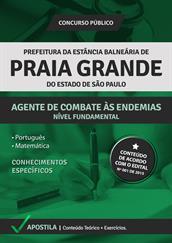 Apostila Concurso Agente de Combate às Endemias – Prefeitura de Praia Grande-SP 2015
