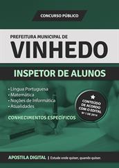 Apostila Digital Prefeitura de Vinhedo-SP - Inspetor de Alunos