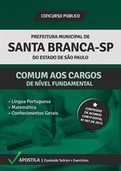 Apostila Digital Prefeitura de Santa Branca-SP – Comum aos Cargos de Nível Fundamental