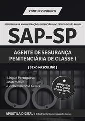 Apostila Digital SAP-SP - Agente de Segurança Penitenciária de Classe l-Masculino