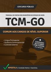Apostila Digital TCM-GO - Cargos de Nível Superior