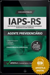 Apostila Digital Concurso IAPS-RS 2015 – Agente Previdenciário