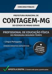 Apostila Digital Prefeitura de Contagem-MG - Profissional de Educação Física - Grátis Simulados Online