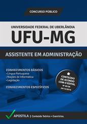 Apostila Digital UFU-MG - Assistente em Administração