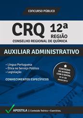 Apostila Digital CRQ 12ª Região – Auxiliar Administrativo