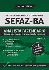 Apostila Digital SEFAZ-BA - Analista Fazendário - Área de Qualificação de Administração Tributária