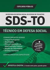 Apostila Digital SDS-TO - Técnico em Defesa Social