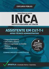 Apostila Concurso INCA 2014 - Assistente em C&T-T-l - Apoio Técnico Administrativo (Digital)