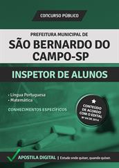 Apostila Digital Prefeitura de São Bernardo do Campo-SP - Inspetor de Alunos - Grátis Simulados Online
