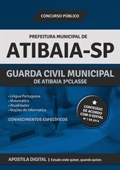Apostila Digital Prefeitura de Atibaia-SP - Guarda Civil Municipal 3º Classe