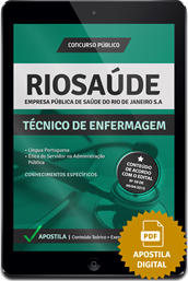Apostila Digital Concurso Rio Saúde 2015 - Técnico de Enfermagem