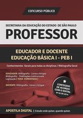 Apostila Digital SEE-SP - Professor Educador e Docente - Educação Básica l - PEB l