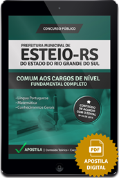 Apostila Digital Concurso Esteio – RS – Fundamental Completo