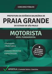 Apostila Concurso Motorista – Prefeitura de Praia Grande-SP 2015