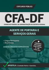 Apostila Digital CFA-DF - Agente de Portaria e Serviços Gerais