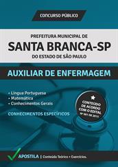 Apostila Digital Prefeitura de Santa Branca-SP – Auxiliar de Enfermagem