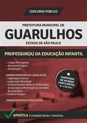 Apostila Digital Prefeitura de Guarulhos-SP - Professor de Educação Infantil