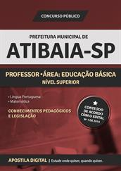 Apostila Digital Prefeitura de Atibaia-SP - Professor - Área: Educação Básica