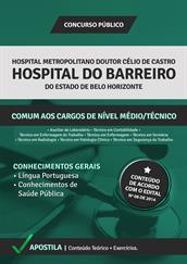 Apostila Concurso Hospital do Barreiro-BH 2015 – Comum aos Cargos de Nível Médio e Técnico