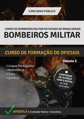 Apostila Bombeiro Militar-MG - Curso de Formação de Oficiais