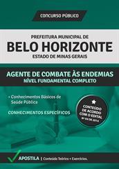 Apostila Agente de Combate a Endemias de BH 2015