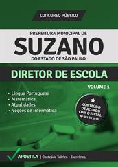 Apostila Digital Prefeitura de Suzano-SP - Diretor de Escola