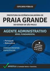 Apostila Concurso Agente Administrativo – Prefeitura de Praia Grande-SP 2015