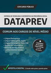 Apostila Digital DATAPREV - Comum aos Cargos de Nível Médio