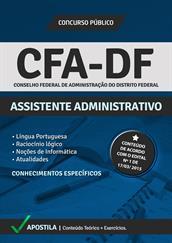 Apostila Digital CFA-DF – Assistente Administrativo