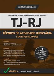 Apostila Digital TJ-RJ - Técnico de Atividade Judiciária