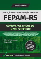 Apostila FEPAM-RS - Cargos de Nível Superior
