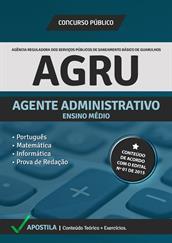 Apostila Digital AGRU – Agente Administrativo
